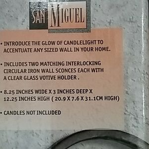 San Miguel Other - Wall sconces